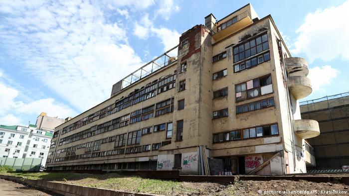 Narkomfin-Gebäude in Moskau