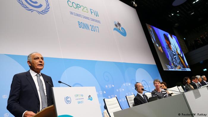 COP23 UN Klimakonferenz in Bonn Eröffnung Salaheddine Mezouar (Reuters/W. Rattay)