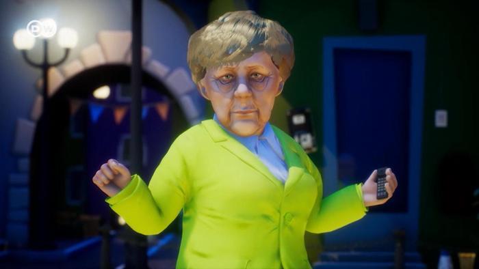 Скриншот из мультфильма Заповедник