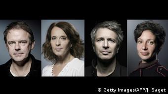 Prix Goncourt-Finalisten | Yannick Haenel, Veronique Olmi, Eric Vuillard und Alice Zeniter