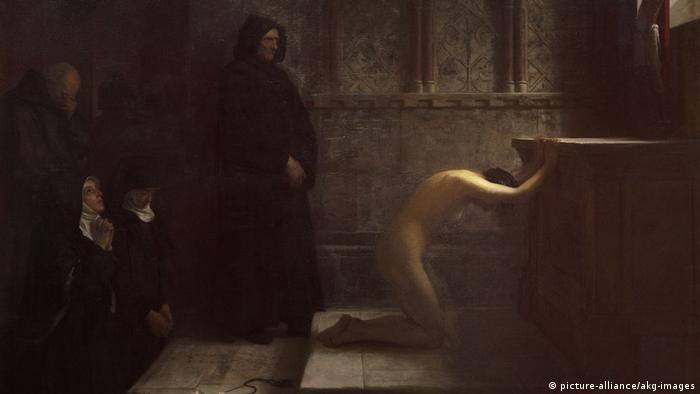 Отречение Святой Елизаветы. Филипп Гермогенес Кальдерон, 1891 год