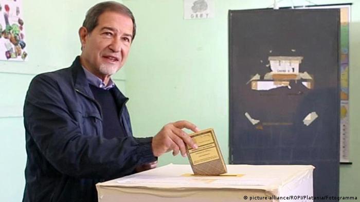 Wahl in Sizilien Nello Musumeci (picture-alliance/ROPI/Platania/Fotogramma)