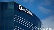 Ein Qualcomm Gebäude in San Diego Kalifornien