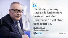Zitat-Tafel Karl Schlögel