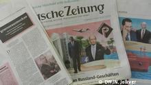 Süddeutsche Zeitung vom 6.11.2017 mit den Enthüllungen Paradise Paper