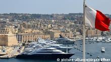 Paradise Papers | Steueroasen: Der Yachthafen von Valetta, Malta