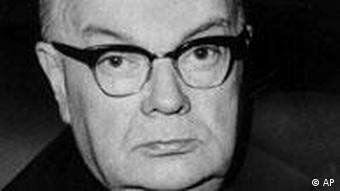 Paul-Henri Spaak, Foreign minister of Belgium. (AP-Photo) 15.1.1965