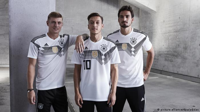DFB WM-Trikot für 2018 (picture-alliance/dpa/adidas)