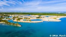 26.10.2017 Die künstliche Insel Fantasy Island ist ein Landgewinnungsprojekt nahe der Stadt Nadi in Fidschi