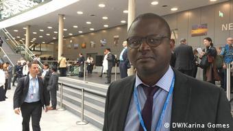 Aderito Santana, Metereologe aus Sao Tome e Principe