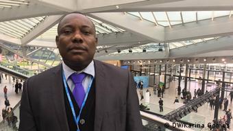 Viriato Cassama, Umwelt Direktor - Guinea Bissau