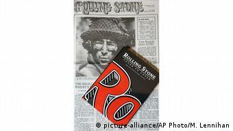 Capa da primeira edição da Rolling Stone