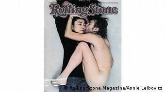John Lennon and Yoko Ono on the cover of Rolling Stone in 1981