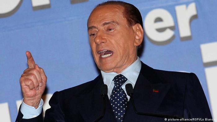 Silvio Berlusconi in Palermo