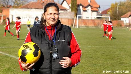 Serbien Erfolgreiche Roma - Nataša Petrović (DW/J. Djukić-Pejić)