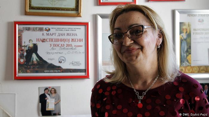 Serbien Erfolgreiche Roma - Ana Saćipović (DW/J. Djukić-Pejić)