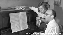 Kurt Weill und Ehefrau Lotte Lenya