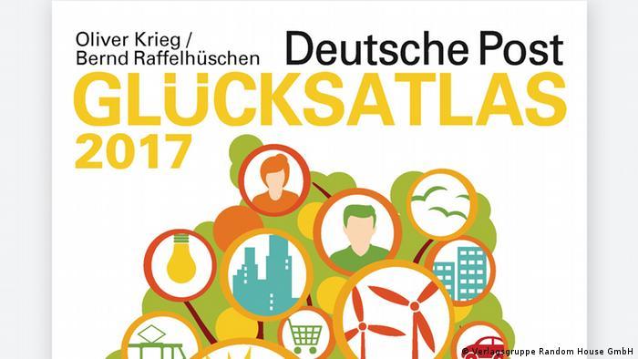 Buch Cover Glücksatlas 2017 (Verlagsgruppe Random House GmbH)