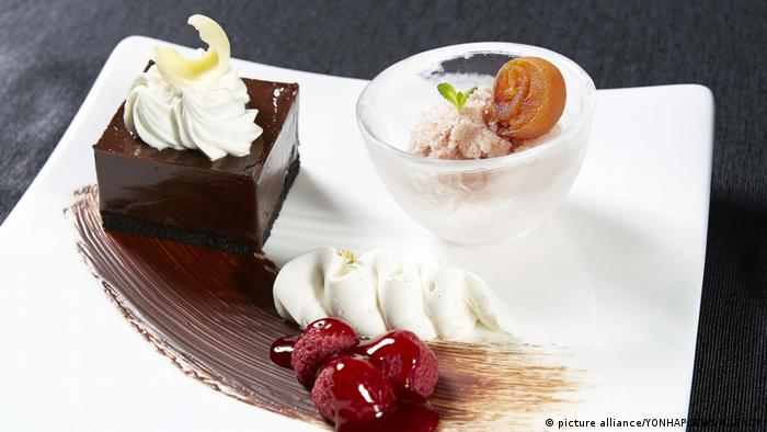 Korea Asien-Reise des US-Präsidenten | Dessert (picture alliance/YONHAPNEWS AGENCY)