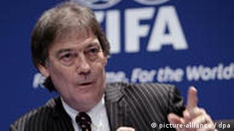 Direktor der internationalen Anti-Doping Agentur WADA David Howman