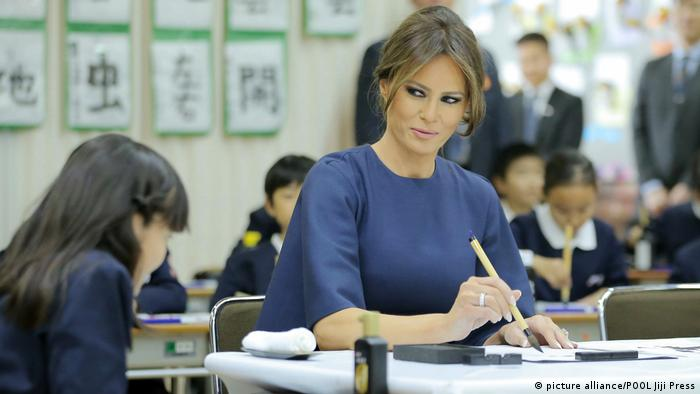 Japan Asien-Reise des US-Präsidenten | Melania Trump (picture alliance/POOL Jiji Press)