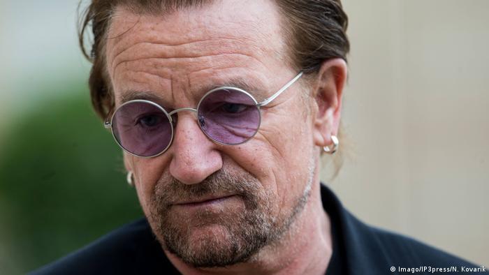 Bono Sänger von U2 (Imago/IP3press/N. Kovarik)