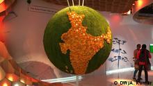 Subject : COP 23 BONN Caption: Indian Pavillion at COP 23 BONN Catchwords: COP 23, Climate Conference, Bonn, India, Envioronment, Pavillion Place: Bonn Date: 07/11/2017 Reporter: Ashok Kumar, DW Copyright: Ashok Kumar