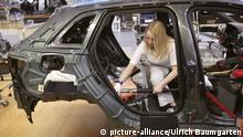 Produktion des AUDI A3 im AUDI Werk in Ingolstadt