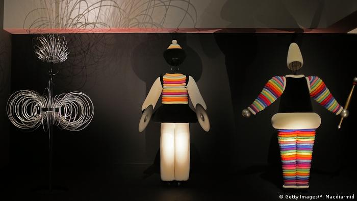 Costumes for Oskar Schlemmer's Triadic Ballet from 1922 (Getty Images/P. Macdiarmid)