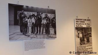 Con convocatorias a eventos y conciertos, como el del grupo Inti Illimani, las organizaciones promovieron la solidaridad con Chile.