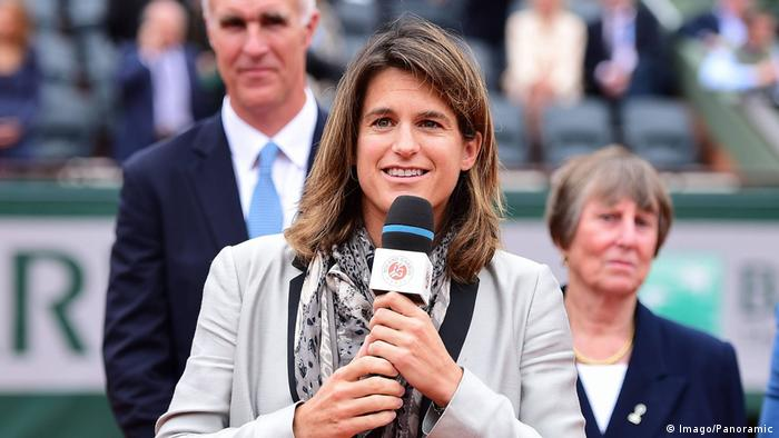 Frankreich Tennis Trainerin Amelie Mauresmo (Imago/Panoramic)