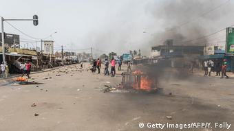 Togo Lome Demonstrationen (Getty Images/AFP/Y. Folly)