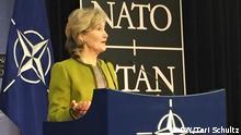 Brüssel, US-NATO-Botschafterin Kay Bailey Hutchison