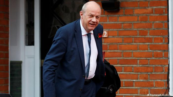 Damian Green in London (Reuters/P.Nicholls)