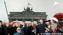 Deutschland, Öffnung der Mauer am Brandenburger Tor