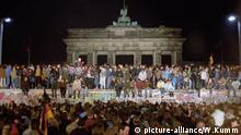 Deutschland, Brandenburger-Tor, Maueröffnung 1989