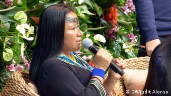 Bonn, Klimakonferenz, COP23, Indigene Völker (DW/Judit Alonso)