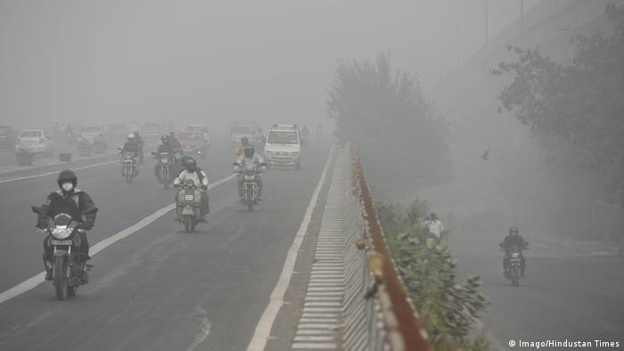 India, New Delhi Smog