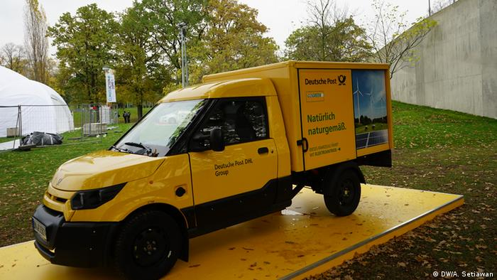 Deutsche Post electric vehicle