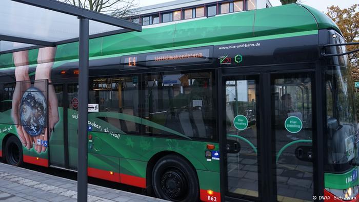Bonn - COP 23 - E-Mobilität (DW/A. Setiawan)