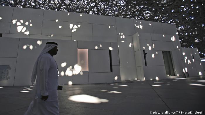 Vereinigte Arabische Emirate - Louvre in Abu Dhabi (picture-alliance/AP Photo/K. Jebreili)