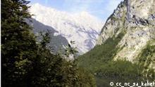Watzmann vom Obersee her gesehen