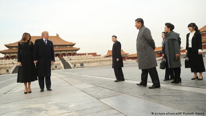 China Trump auf erster Asien-Reise