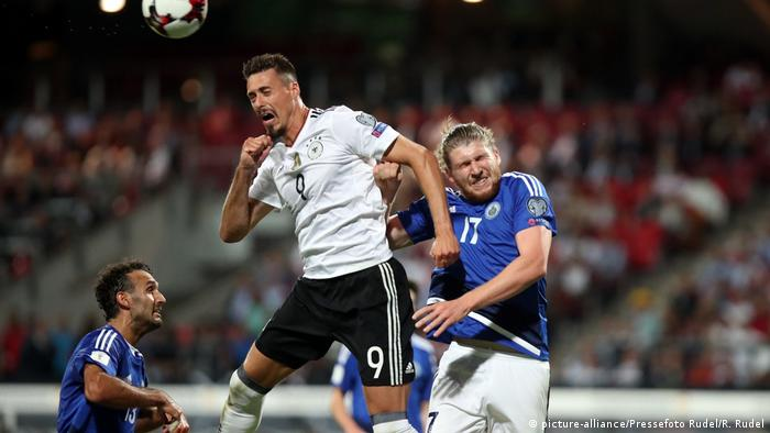 WM-Qualifikation - Deutschland - San Marino Sandro Wagner (picture-alliance/Pressefoto Rudel/R. Rudel)