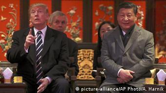 China Peking Xi Jinping und Donald Trump