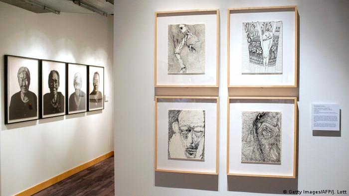 An exhibit of Rosemarie Koczy works in the USA (Getty Images/AFP/J. Lott)