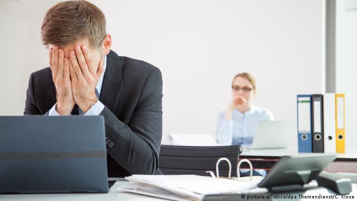 Офисный работник в Германии может пройти медосмотр