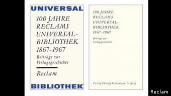 Reclam Universalbibliothek 150