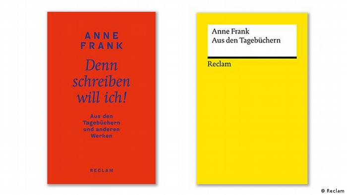 The Diary of Anne Frank reclam books side by side (Reclam)