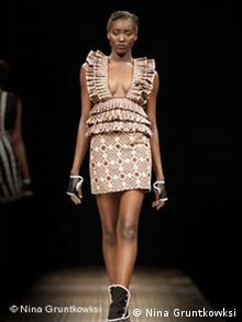Modeschau South African Fashion
